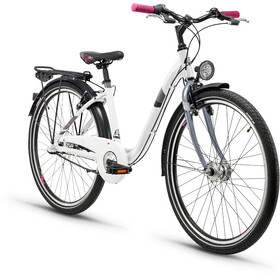 s'cool chiX 26 3-S - Vélo junior Enfant - alloy blanc